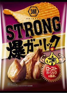 KOIKEYA STRONG ポテトチップス 爆ガーリック